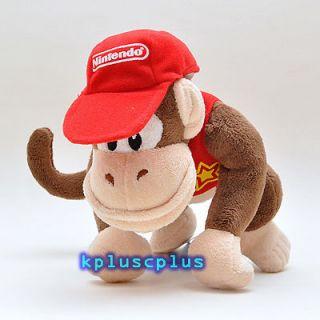 Super Mario Bros Plush Doll Toy   Kid Donkey Kong 6