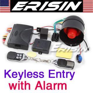 ES188 Car Keyless Entry System Remote Central Locking + Alarm