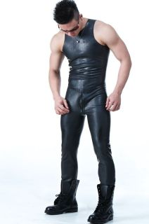 SQUEEZE.DOG Latex Gummi Rubber Sleeveless Body Suit