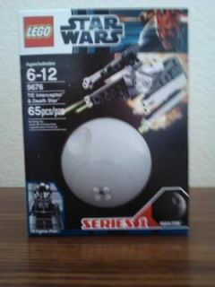 Sealed Lego Star Wars Series 1 Tie Interceptor and Death Star MiNMP