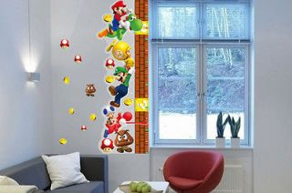 Height Measurement 3D Wall Sticker Mural Art Vinyl Home Decor Decal