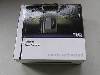 Optimus CTR 113 Voice Cassette Recorder (#g2)