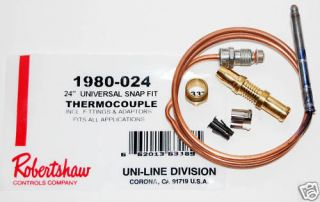 Duo Therm RV Furnace Thermocouple Kit part #1310531.001