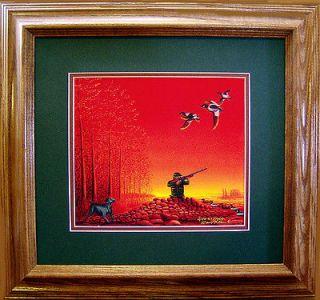 Shotgun/Duck Hunting/Goldeneye Decoys/Weimeraner Dog/Ducks Unlimited