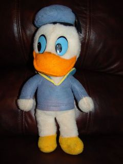 Vintage Knickerbocker Disney Donald Duck Plush Doll 16
