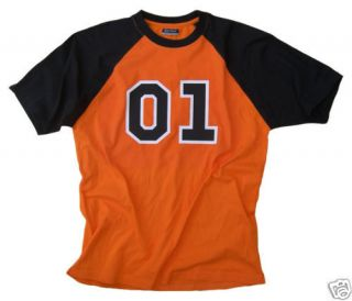 01 GENERAL LEE T SHIRT DUKES OF HAZZARD BO LUKE DUKE