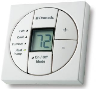 Dometic 3313189.023 Single Zone LCD Thermostat & Control Kit PW Cool