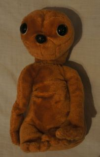 International 1982 Medium Stuffed Plush Brown ET Character Doll Toy
