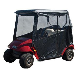 Golf Cart 3 Sided Enclosure EZGO 94+ Black Cart Cover