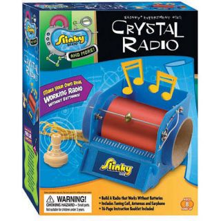 Educational Science Crystal Radio Kit for KIDS Ages 8 to 10 Years