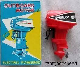 Evinrude OUTBOARD MOTOR RARE Japan Limited NEW OLD STOCK