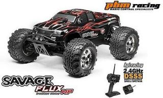 HPI Racing Savage FLUX HP RC RTR Brushless Electric Monster Truck