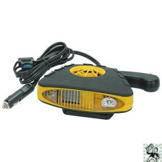 DC Auto Heater / Defroster with Light / ELECTRIC PORTABLE CAR HEATER