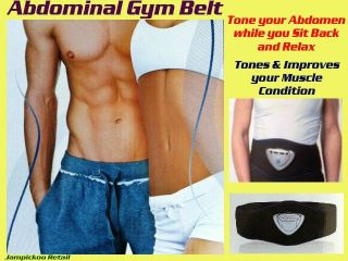 Abdominal Gym Belt Electronic Battery Muscle Toner Abs Flat Stomach 6
