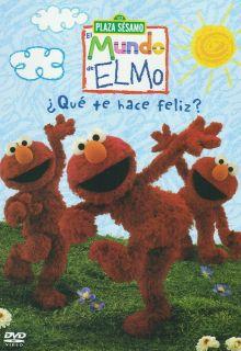 Sesamo Que Te Hace Feliz / Elmos World What Makes You Happy DVD NEW