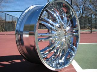 boxes Four 20 Chrome Wheels Rims Cadillac CTS DTS STS Eldorado