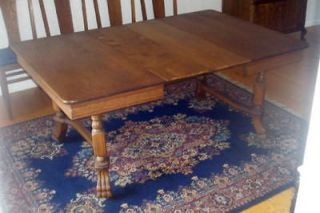 Spanish dining table 10 foot long solid oak top metal for 100 year old oak table