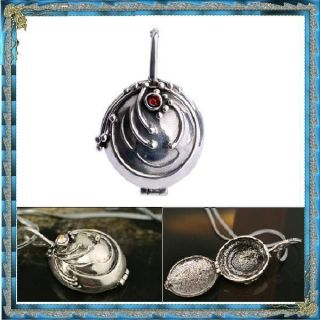 The vampire diaries Elena Vervain filled locket necklace  antique