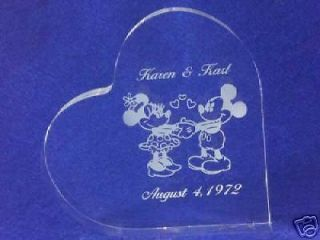 mickey minnie wedding cake topper in Collectibles