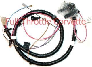 1979 Corvette Engine Wiring Harness NEW