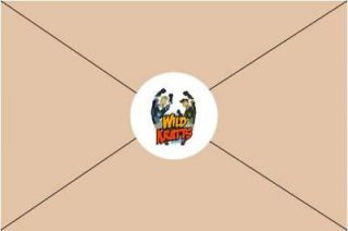 Birthday Party Invitations Envelope Seals Stickers Favors Candy