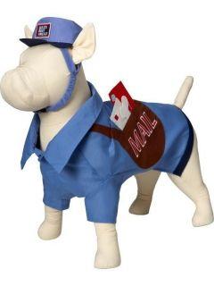 Mail Man Carrier Small Miniature Dog Pet Halloween Costume   Sz XS XXS