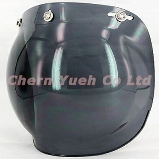 Lens Snaps Bubble Shield Visor Mask for Open Face Helmet BUCO Arai HJC