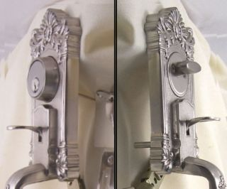 VERY SPECIAL FINE ESTATE Entrance Door Handle Set WOW