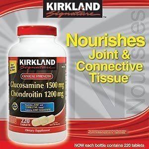 KIRKLAND Signature Extra Strength Glucosamine HCl Chondroitin 220 ct