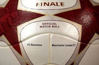 Finale ROME Match Worn Used Foot Fuss Ball Pallone Ballon Balon Soccer