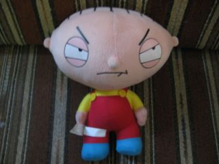 11 plush Stewie doll, from Family Guy, good condition