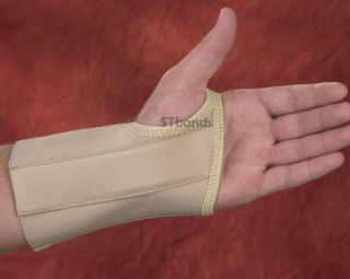 Wrist & Hand Splint   Support Brace with Open Tip Fingers   Carpal