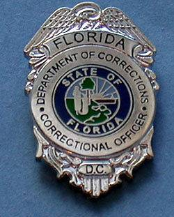 FLORIDA DEPT OF CORRECTIONS CORRECTIONAL OFFICER PIN