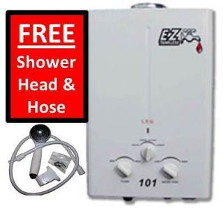 EZ 101   Tankless Water Heater LP (Liquid Propane) Gas – Up to 2.0