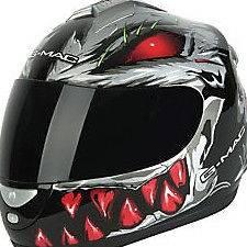 Project R Predator Full Face motorbike motor bike raptor Quad mx
