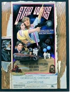CODE 3 LEGENDARY CASTS STAR WARS CIRCUS STYLE D ONE SHEET MOVIE POSTER