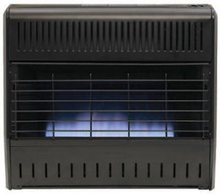 World 30,000 BTU Blue Flame Natural or Propane Gas Garage Wall Heater