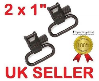 Uncle Mikes Rifle Airgun Sling Swivels 1 Quick Detachable Super