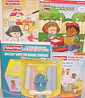 fisher price vintage toys little people village 997 preschool toys