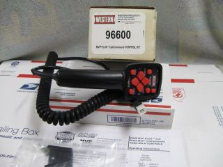 WESTERN FISHER HAND HELD SNOW PLOW CONTROL  NEW 96600 CONTROLLER WITH