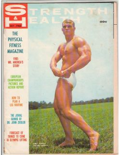 Strength & Health Bodybuilding Fitness Magazine Jerry Daniels 10 65