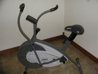 Air Resistance Upright Exercise Bicycle Bike UX2 w/Fitness Monitor