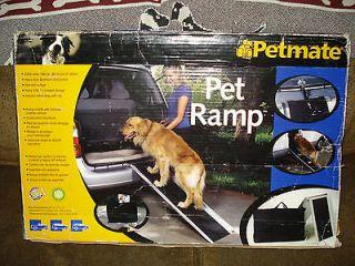 PETMATE DOG RAMP HEAVY DUTY ALUMINUM FOLDABLE W/ CARRY BAG LARGE DOG