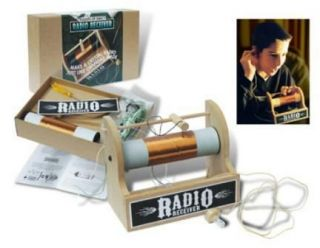 Crystal Radio Kit from Flights of Fancy