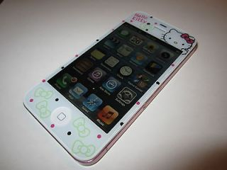 Unlocked Apple iPhone 4 32 GB Custom HELLO KITTY with PINK frame Rare
