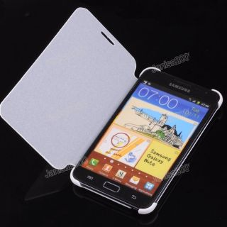 PU Leather Side Flip Case Cover for Samsung Galaxy Note I9220 GT N7000