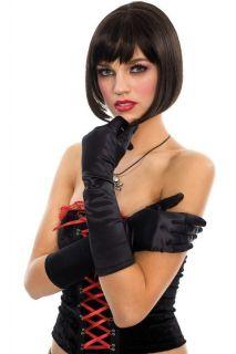 Satin Gloves Elbow Wedding Lady Costume Opera Party Prom USA New
