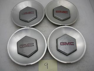 Set of 4 04 05 06 07 08 GMC Envoy 9595112 Wheel Center Caps Hubcaps