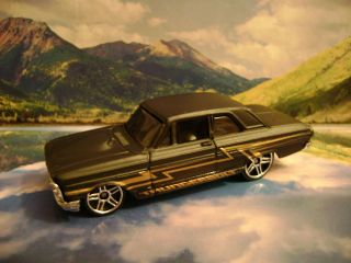 64 FORD THUNDERBOLT 2007 HOT WHEELS ALL STARS SERIES FLAT BLACK