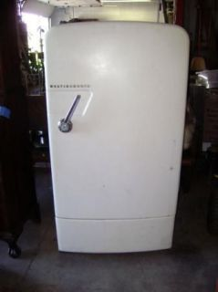 Antique white westinghouse refrigerator works great